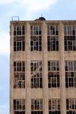 Aufgegebenes Gebäude Stockbild