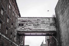 Aufgegebenes Gebäude lizenzfreie stockfotos