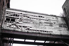 Aufgegebenes Gebäude stockfotos