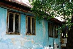 Aufgegebenes Gebäude in Travnik Lizenzfreie Stockfotografie
