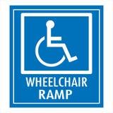 Aufgehoben nur für Behinderte Lizenzfreies Stockfoto
