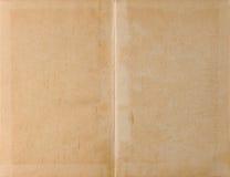 Aufgeklapptes Buchleuchtepapier Stockbild
