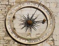 Aufgeteilte alte Stadt, Kroatien Stockfoto