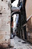 Aufgeteilte ` s alte Stadt, SPALTE, KROATIEN lizenzfreie stockfotografie