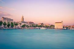 Aufgeteilte Ufergegend, Dalmatien, Kroatien Lizenzfreies Stockbild