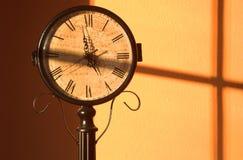 Aufgeteilte Zeit Stockfotografie