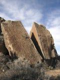 Aufgeteilter Felsen Stockfotos