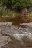 Aufgeteilter Felsen-Fluss Lizenzfreie Stockfotografie