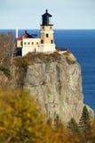 Aufgeteilter Felsen-Leuchtturm Stockfoto