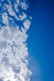 Aufgeteilter Himmel Stockfotos