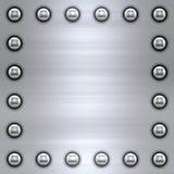 Aufgetragener Metallhintergrund stock abbildung