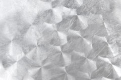 Aufgetragenes Metall mit Kreismuster lizenzfreie stockbilder