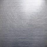 Aufgetragenes silbernes Aluminium Stockfotografie