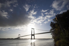 Aufhebung-Brücke Stockfoto