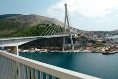 Aufhebung-Brücke - Dubrovnik, Kroatien Lizenzfreies Stockbild