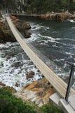 Aufhebung-Brücken und Meer stockfotografie