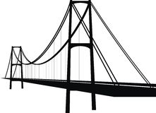 Aufhebungseilzugbrücke Lizenzfreie Stockbilder