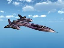 Aufklärungsflugzeug Lizenzfreies Stockbild