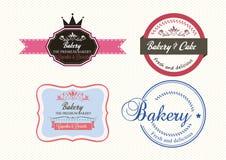 Aufkleber-Bäckerei stock abbildung
