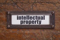 Aufkleber des geistigen Eigentums Lizenzfreies Stockbild