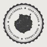 Aufkleber Gran Canaria Stockbild