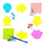 Aufkleber und Briefpapier Lizenzfreie Stockfotografie