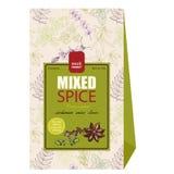 Aufkleber und Verpackungsgestaltung für Lebensmittel 2 Lizenzfreie Stockbilder