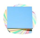 Aufkleber von Farben Lizenzfreie Stockbilder