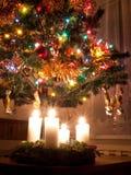 Aufkommen und Weihnachten Lizenzfreies Stockbild