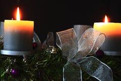 Aufkommen Wreath Lizenzfreie Stockfotografie