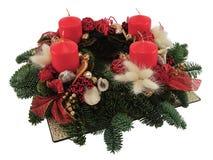 Aufkommen Wreath Lizenzfreies Stockbild