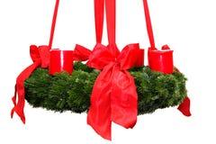 Aufkommen Wreath Lizenzfreies Stockfoto
