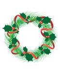 Aufkommen Wreath lizenzfreie abbildung