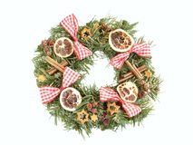 Aufkommen Wreath Stockfotografie