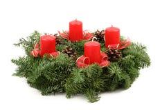 Aufkommen Wreaths Stockfoto