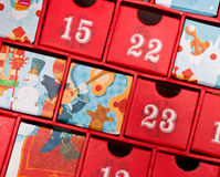 Aufkommenkalender Stockbild