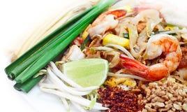 Auflage thailändisch, berühmtes thailändisches Lebensmittel Stockfotografie