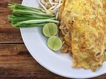Auflage thailändisch; Thailändisches Lebensmittel Lizenzfreie Stockfotografie