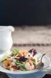 Auflagen-thailändischer Salat Stockfoto