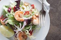Auflagen-thailändischer Salat Lizenzfreies Stockfoto