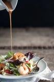 Auflagen-thailändischer Salat Lizenzfreies Stockbild