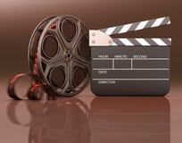 Aufmachung des Films Stockbild