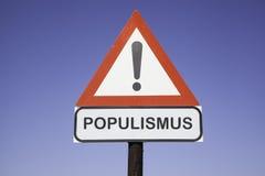 Aufmerksamkeit Populismus stockbilder
