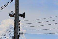 Aufnahme des elektronischen Signals und Aufnahme Stockfotografie