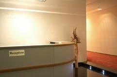 Aufnahme in einer Halle Lizenzfreies Stockfoto