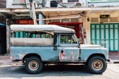 Aufnahme Land-Rover Seriess III lizenzfreies stockfoto