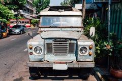 Aufnahme Land-Rover Seriess III Stockbild