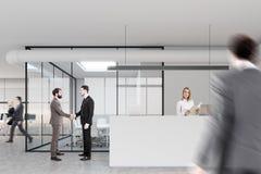 Aufnahme und Konferenzzimmer, Leute Stockfotografie