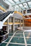 Aufnahme und Lobby Stockbild