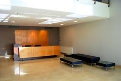Aufnahme und Lobby Lizenzfreies Stockfoto